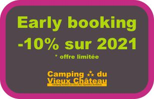 early booking camping du vieux chateau rauzan